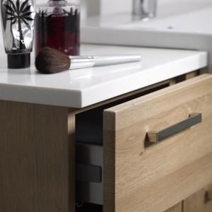 Aruba Natural Oak drawer detail
